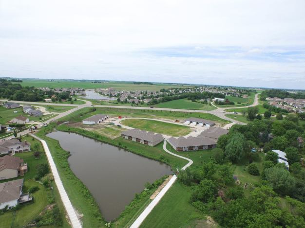 Aerial Photo of Meadow Oak Addition Fairfax