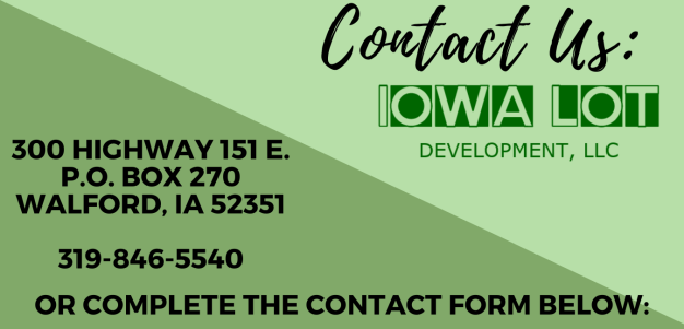 Contact Us information card