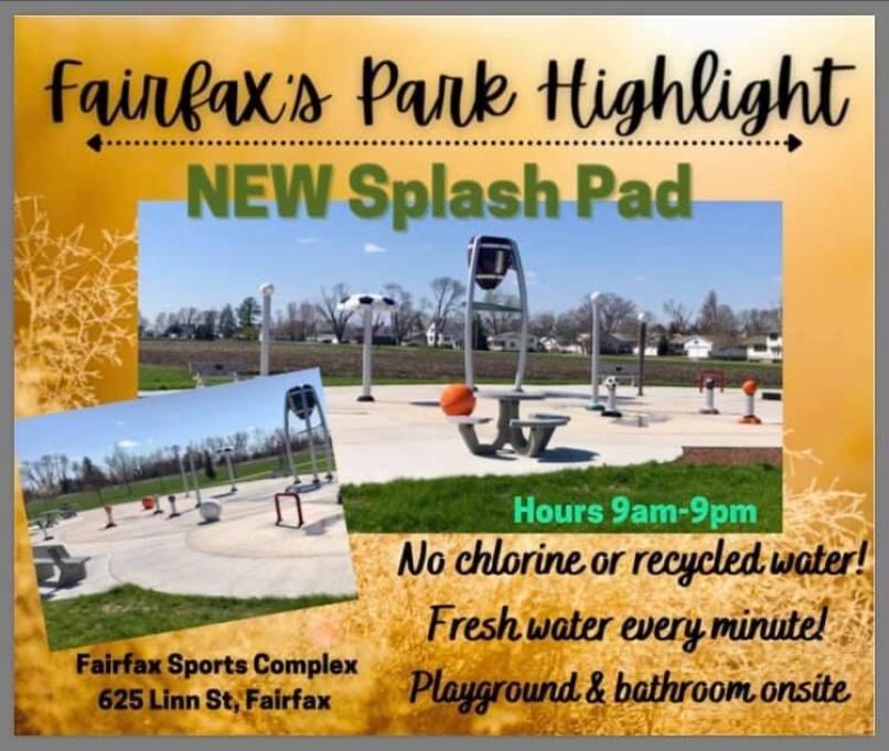 Fairfax Splash Pad Photo